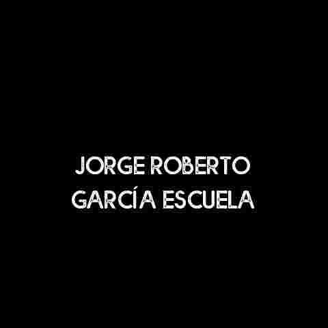 Jorge Roberto García Escuela
