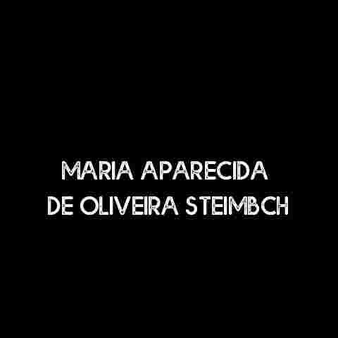 Maria Aparecida de Oliveira Steimbch