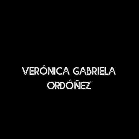 Verónica Gabriela Ordóñez