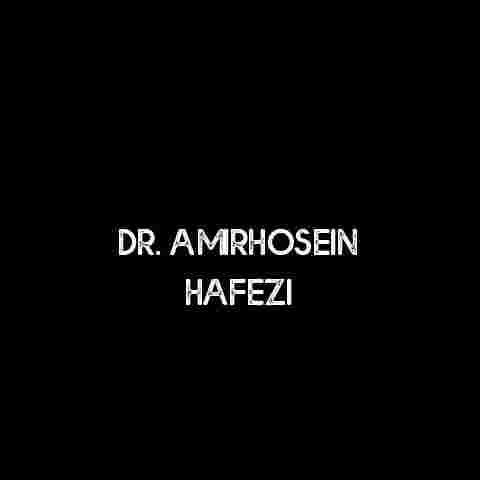 Dr. Amirhosein Hafezi